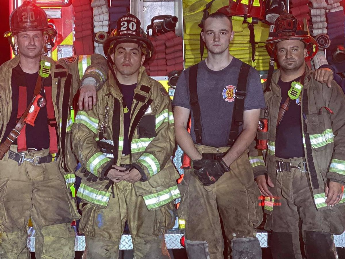 Firefighters rescue person from burning home in Union County