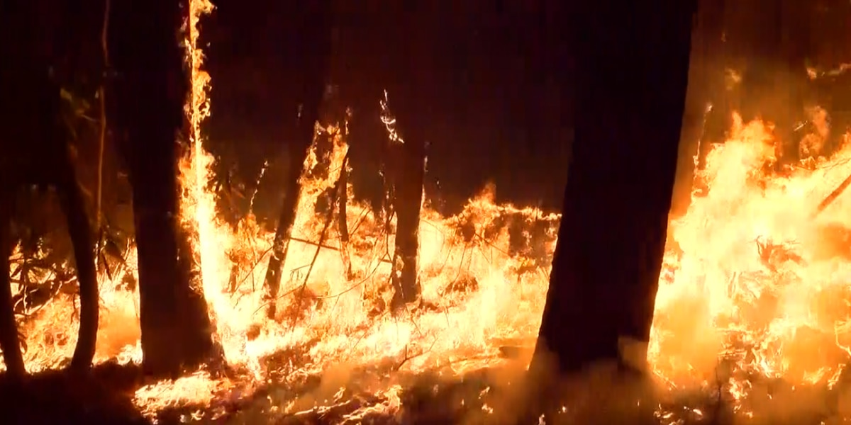Abnormally dry conditions have firefighters worried about a repeat of 2016