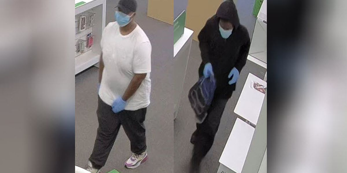 Man in mask and gloves robs phone store in Salisbury