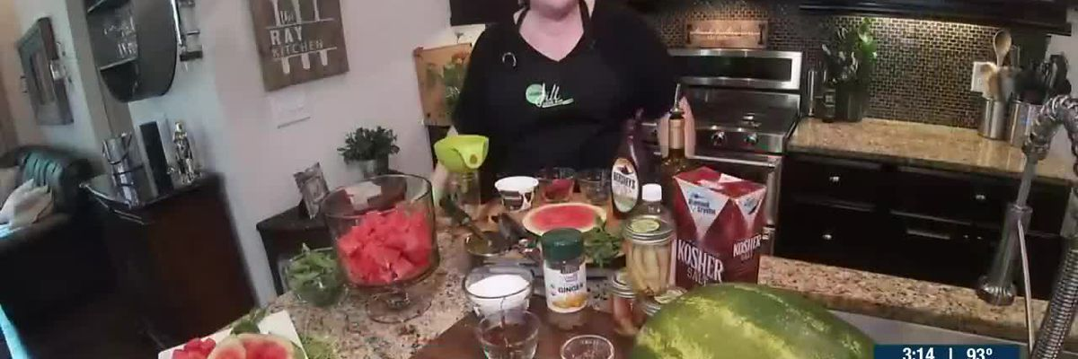 Chef Jill Shares 3 Ways To Serve Watermelon