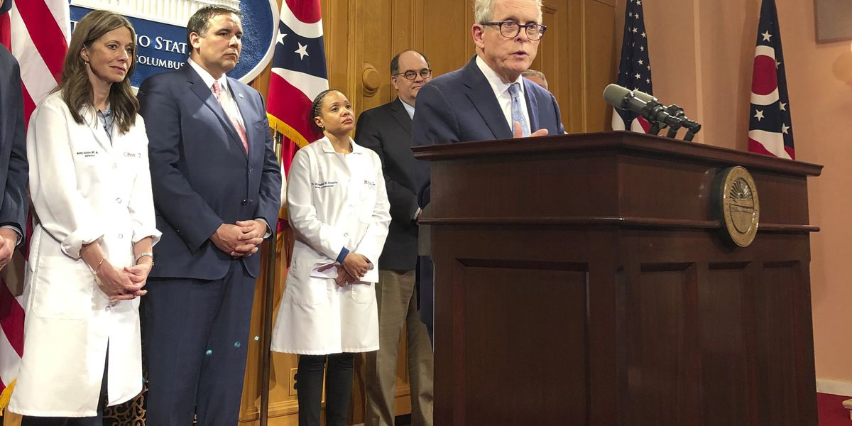 Ohio schools to close for 3 weeks during coronavirus 'crisis;' Gov. DeWine bans gatherings of over 100 people
