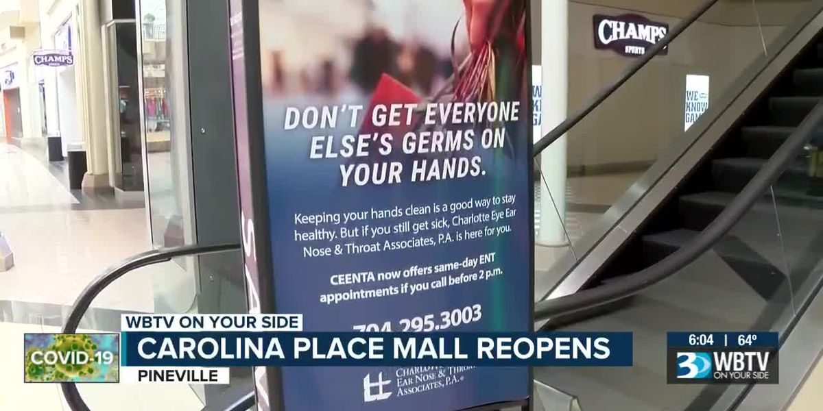 Carolina Place Mall back open for business