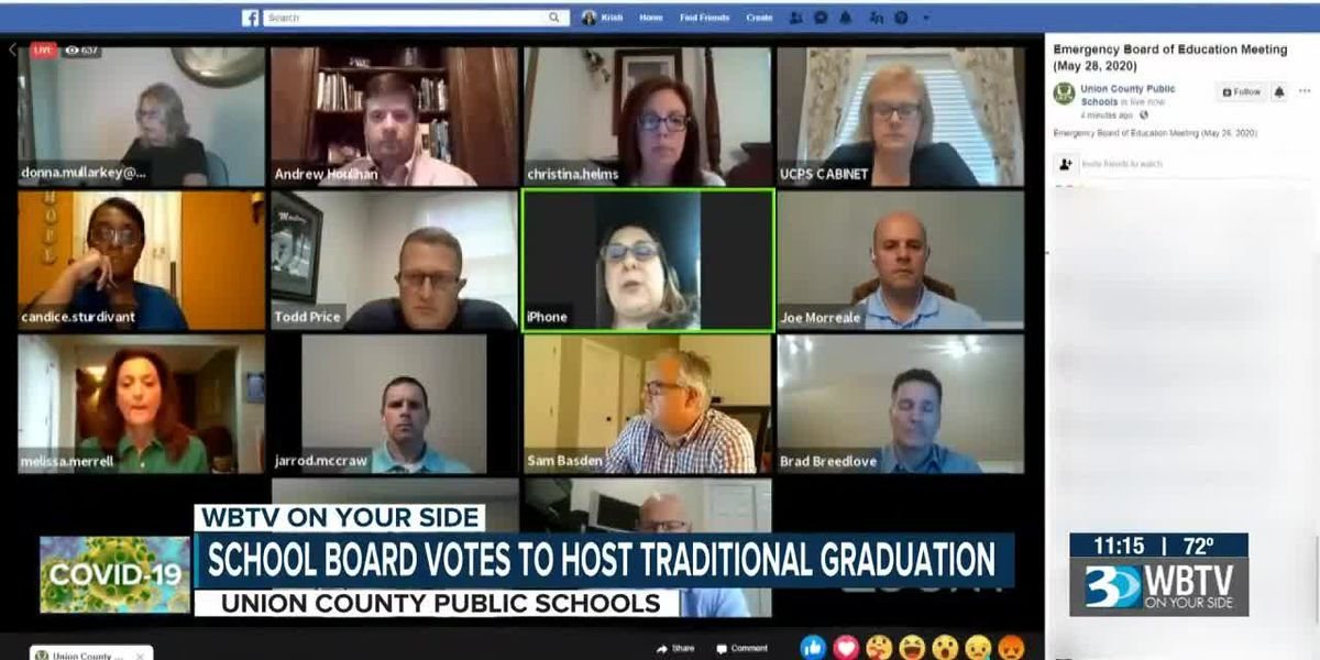 School board votes to host traditional graduation