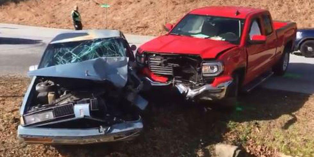Multiple injuries following crash in Lenoir