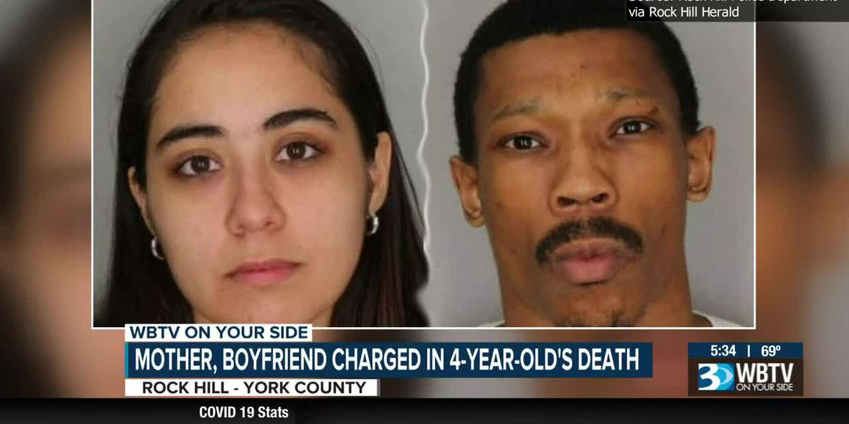 Rock Hill mother, boyfriend charged in 4-year-old's death