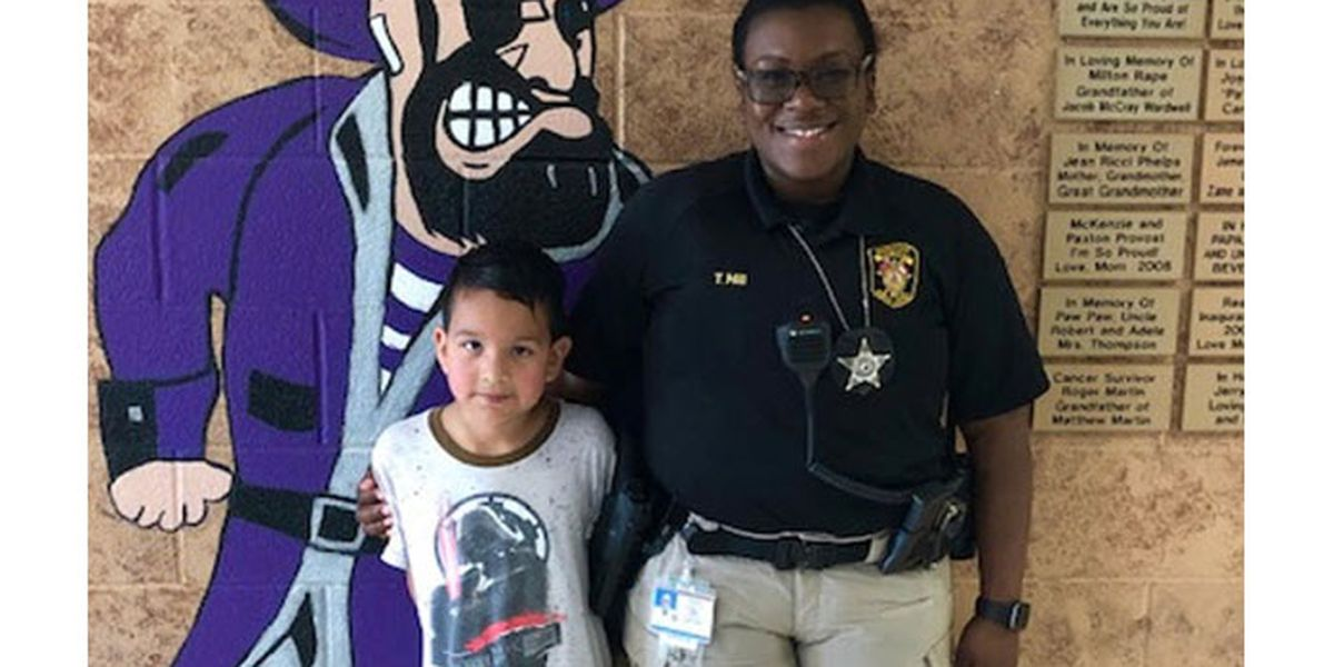 Quick-thinking School Resource Officer saves elementary school student