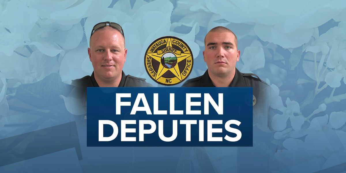Last call: Community to say farewell to Watauga Co. deputies killed in line of duty