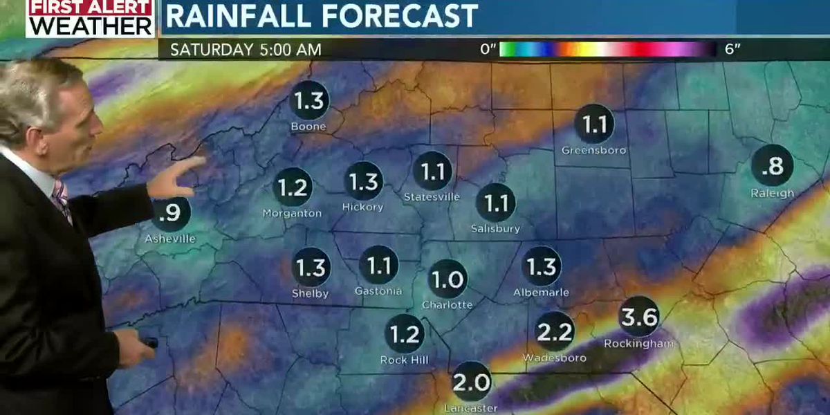 First Alert Friday, with a few rain showers lingering into the weekend