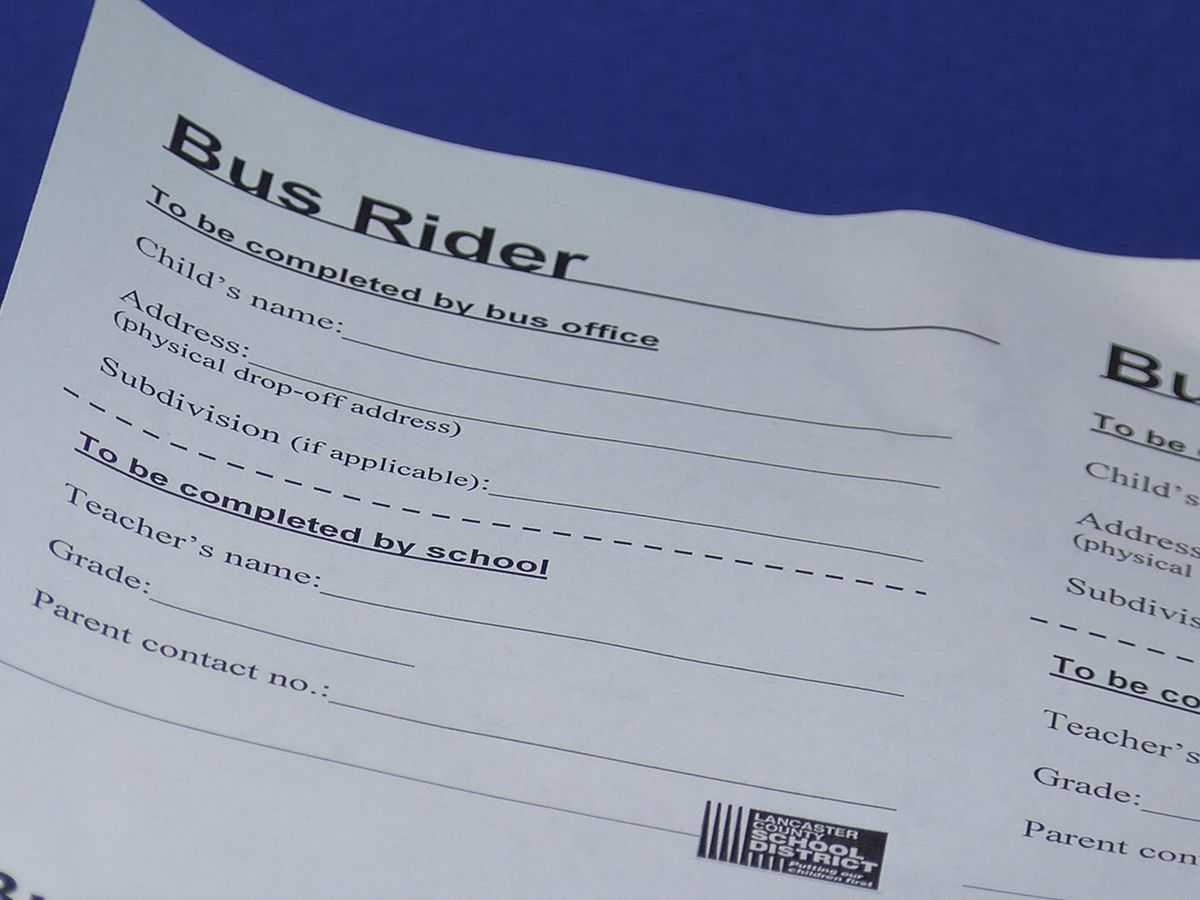 Lancaster County Schools to distribute bus passes to elementary bus riders