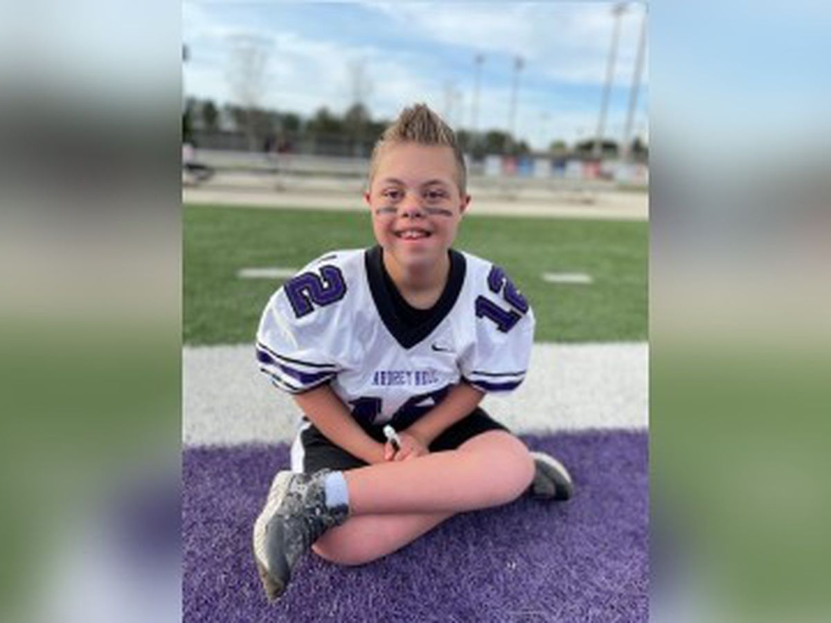 Molly's Kids: Audrey Kell Football players make a 12-year-old's world
