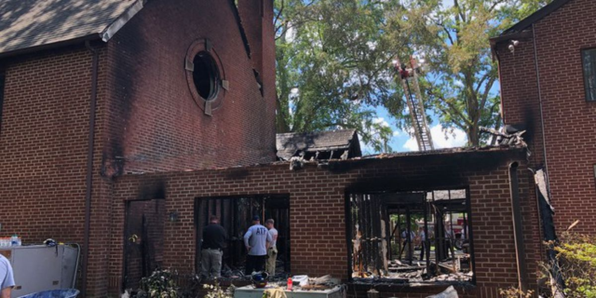 Monroe church holds service less than week after 'heartbreaking' fire