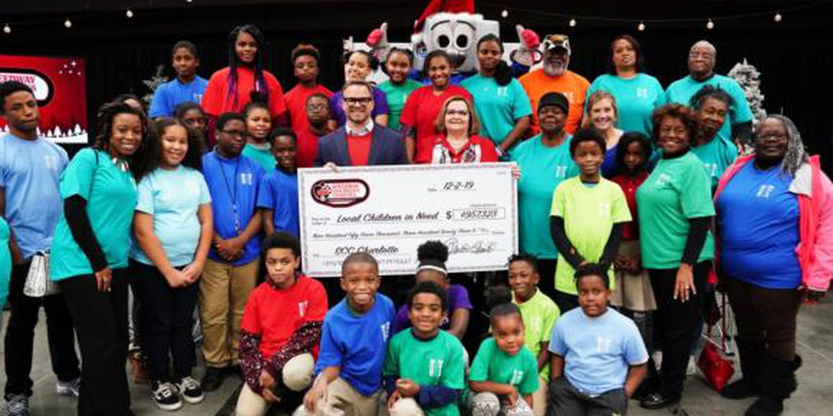 Speedway Children's Charities' Charlotte chapter distributes nearly $1 million to local nonprofits