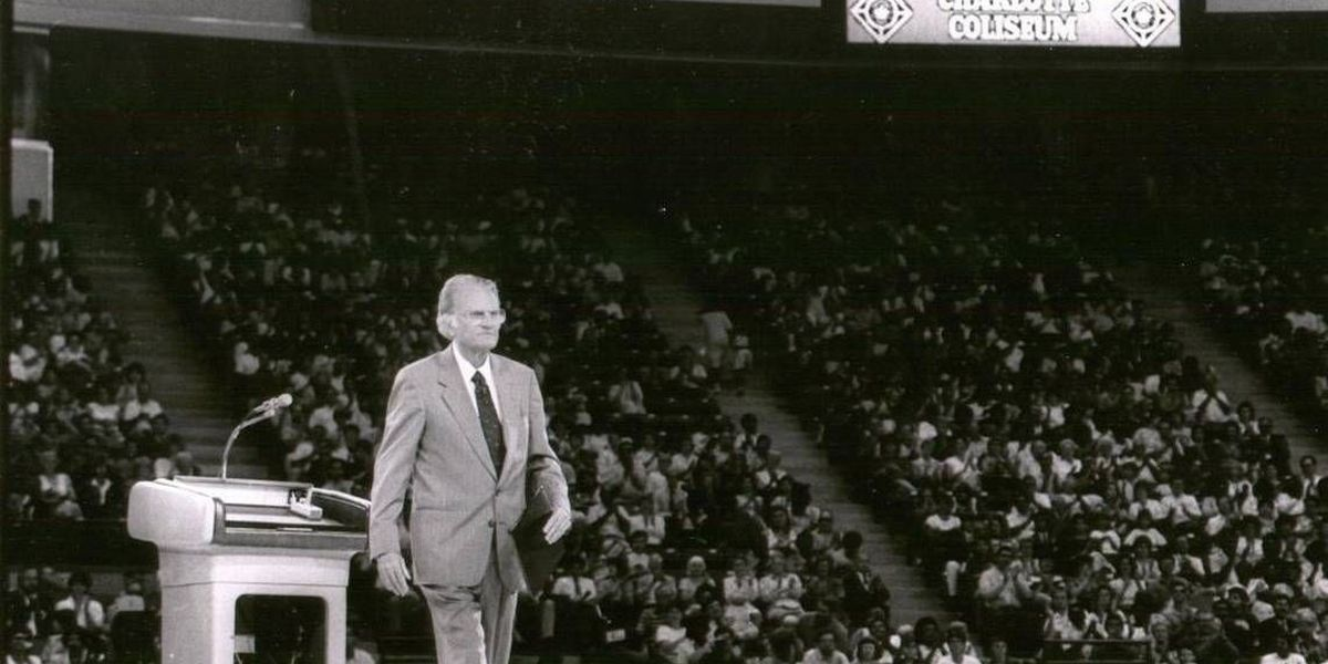 How Billy Graham's sports connections in Charlotte ran deep ... and wide