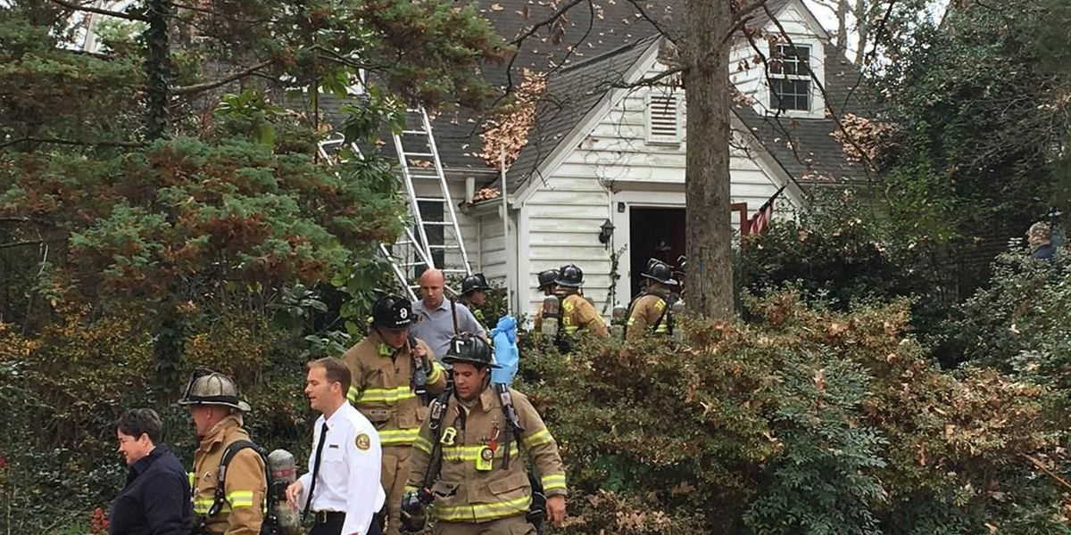 One rescued in Plaza Midwood house fire