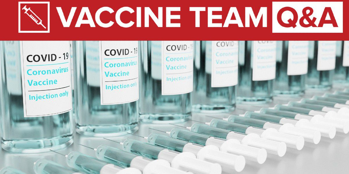 VACCINE TEAM: What should we do if we got two different vaccines on our first and second doses?