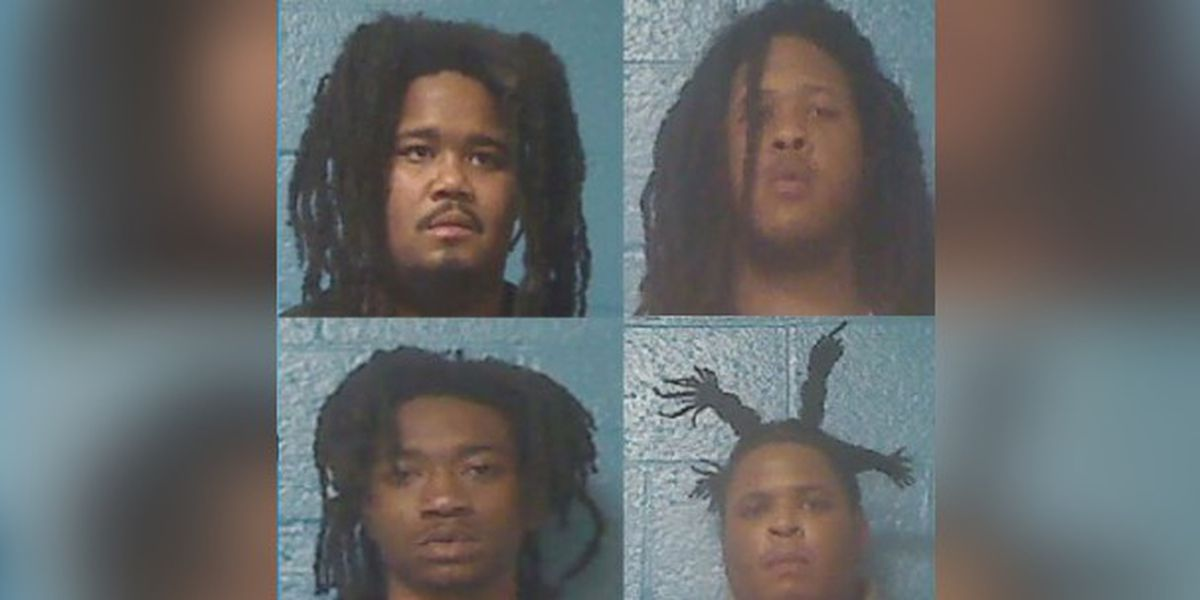 Four charged with murder after body found in trunk in N.C.