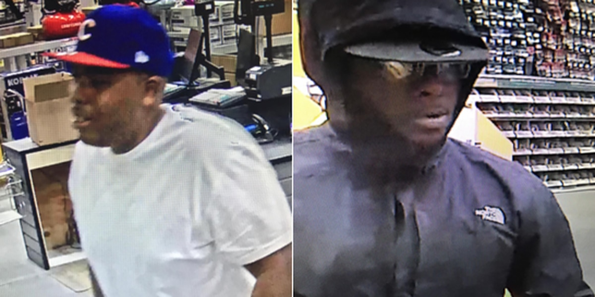 Matthews Police searching for pair involved in hundreds of dollars in theft at home improvement store