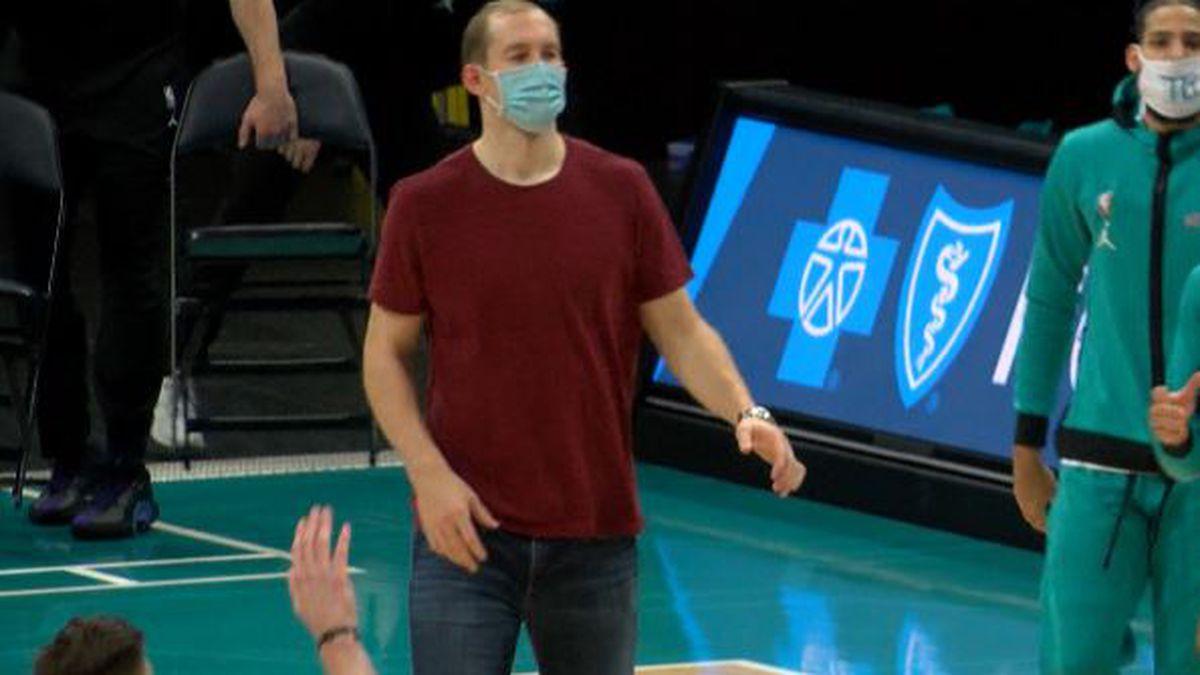 Cody Zeller returns to practice for the Charlotte Hornets