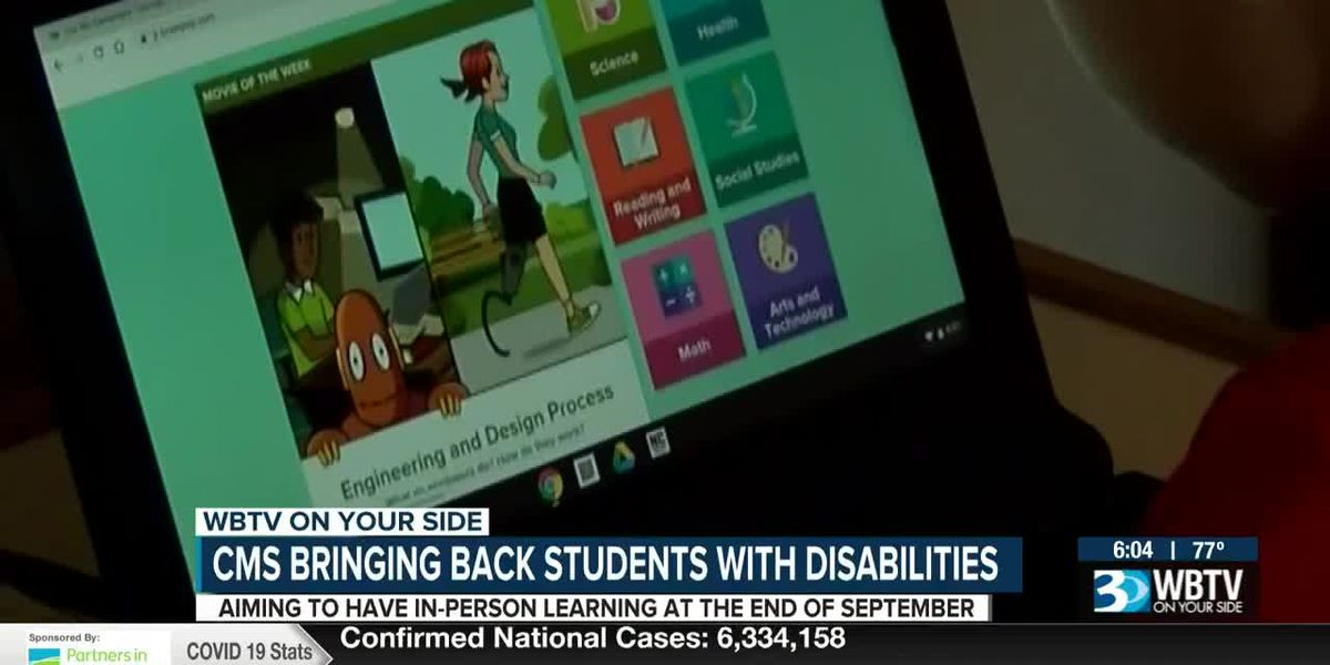 CMS bringing back students with disabilities