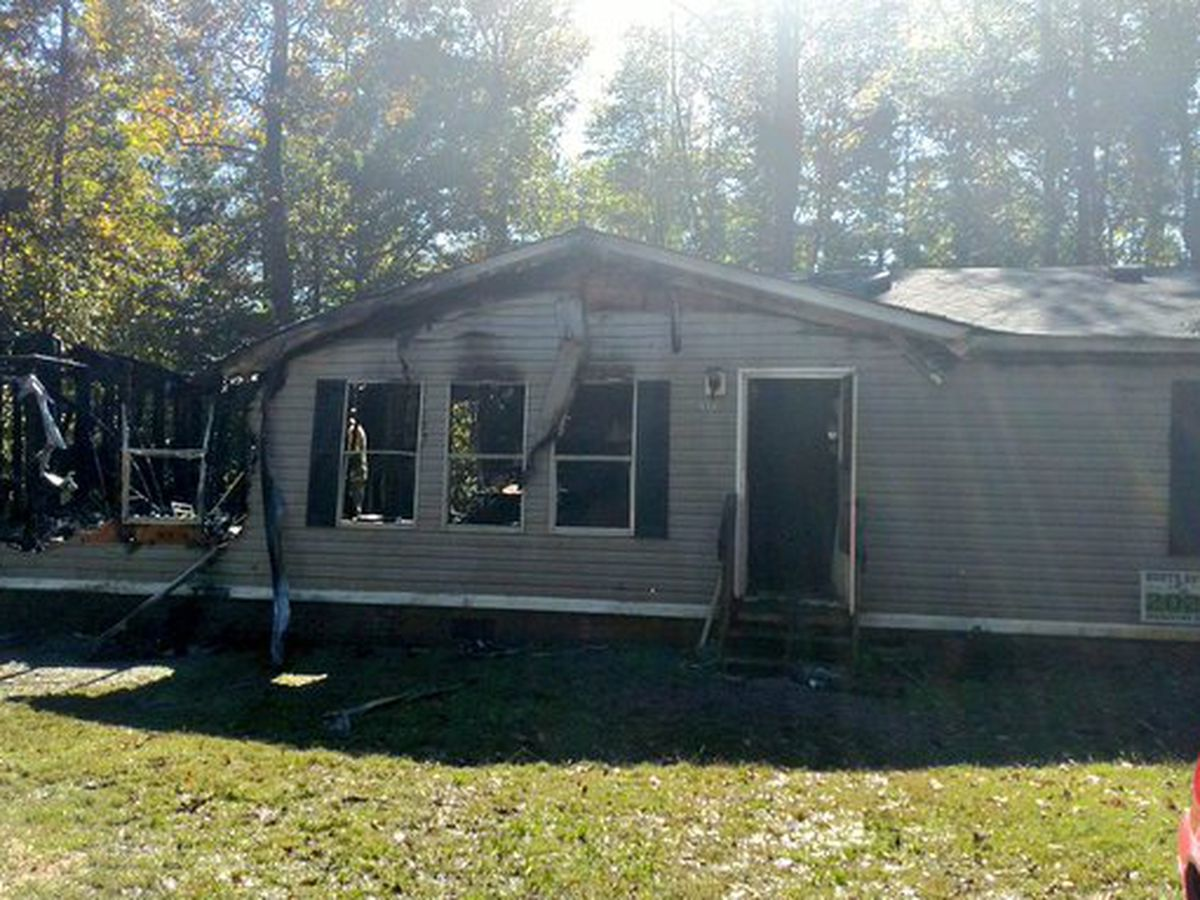 Woodleaf home destroyed by fire