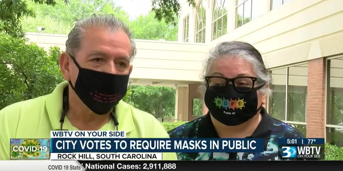 Rock Hill votes to require masks in public