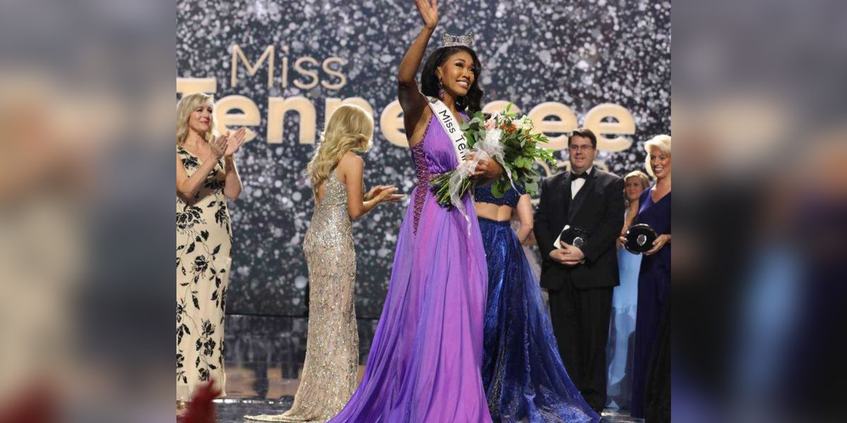 First black woman crowned Miss Tennessee