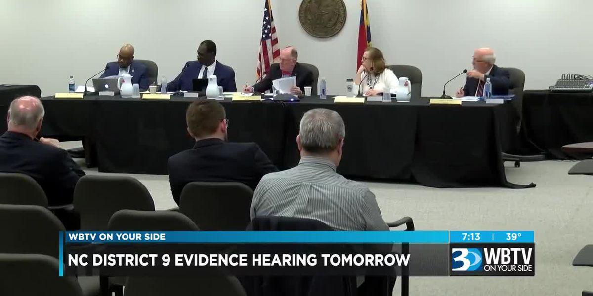 NC District 9 evidence hearing Monday