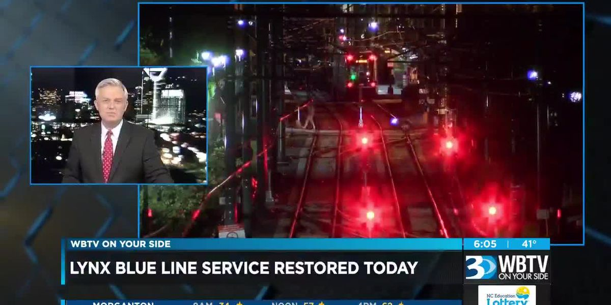 LYNX Blue Line returns to full operations on Monday