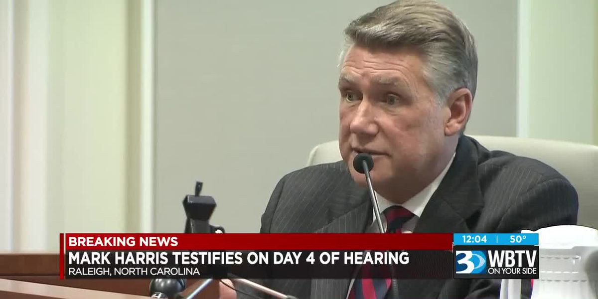 Mark Harris testifies on day four of hearing