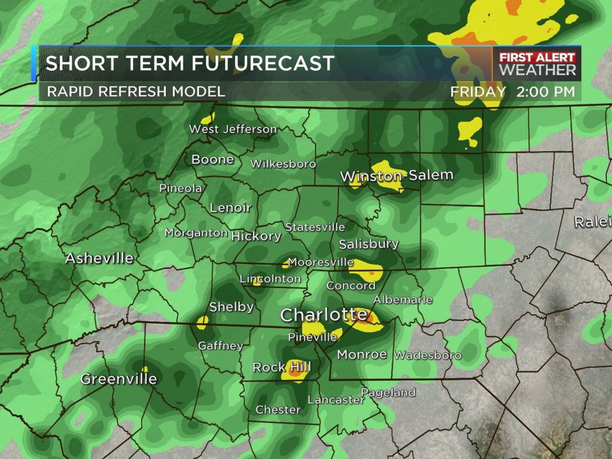 First Alert Day: Chilly weather, rounds of cold rain