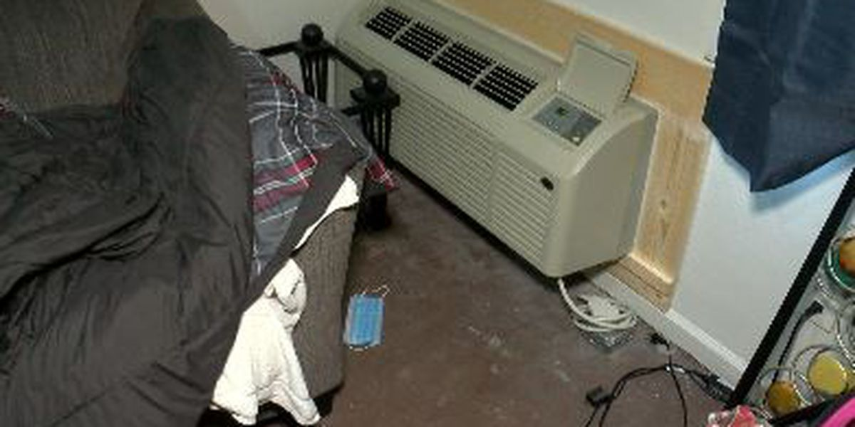 Tenant fights for more heat, relies on one permanent heating unit & space heaters for warmth
