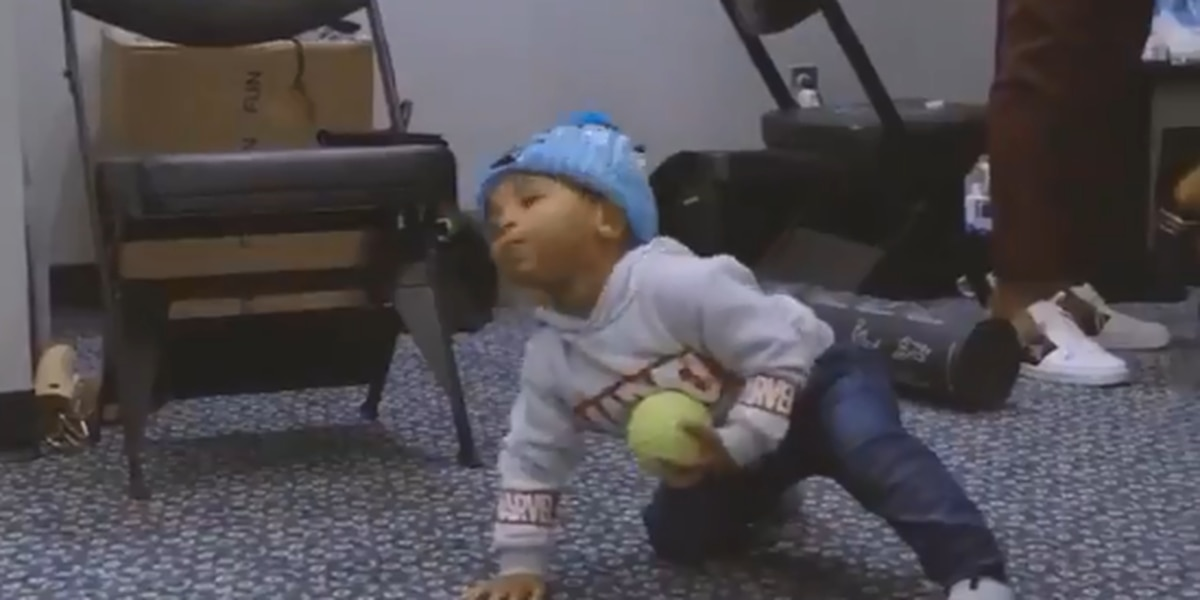 Video of Cam Newton's son dancing goes big on social media