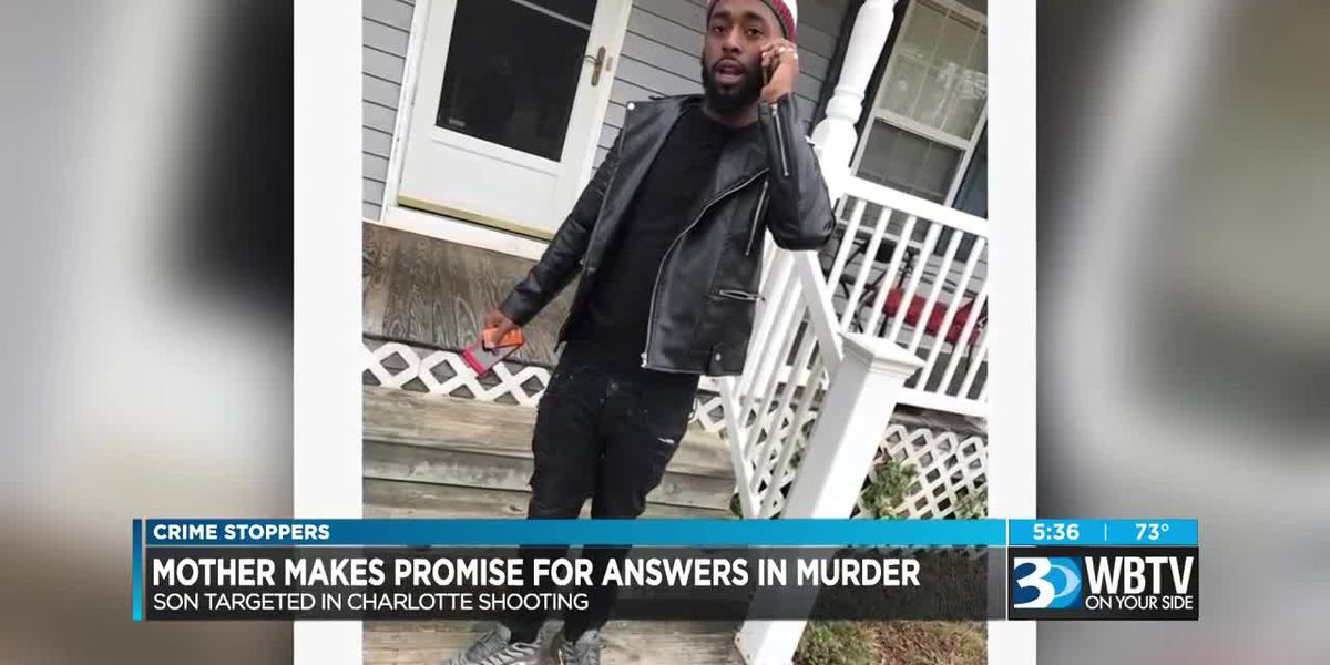 Crime Stoppers: Mother makes promise for answers in murder