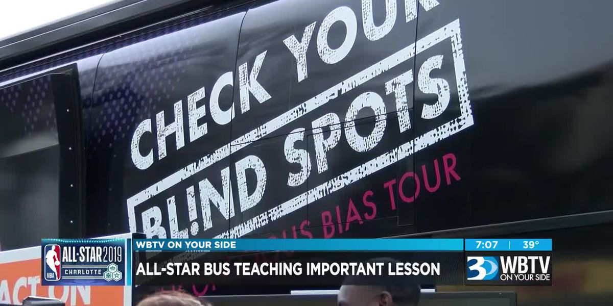 Bus pushing Diversity and Inclusion makes appearance at NBA All-Star