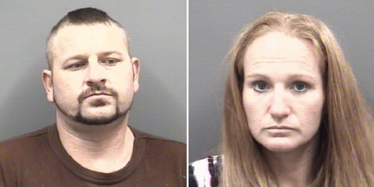 Two face drug and larceny charges, accused of stealing $1000's worth of items from retail stores