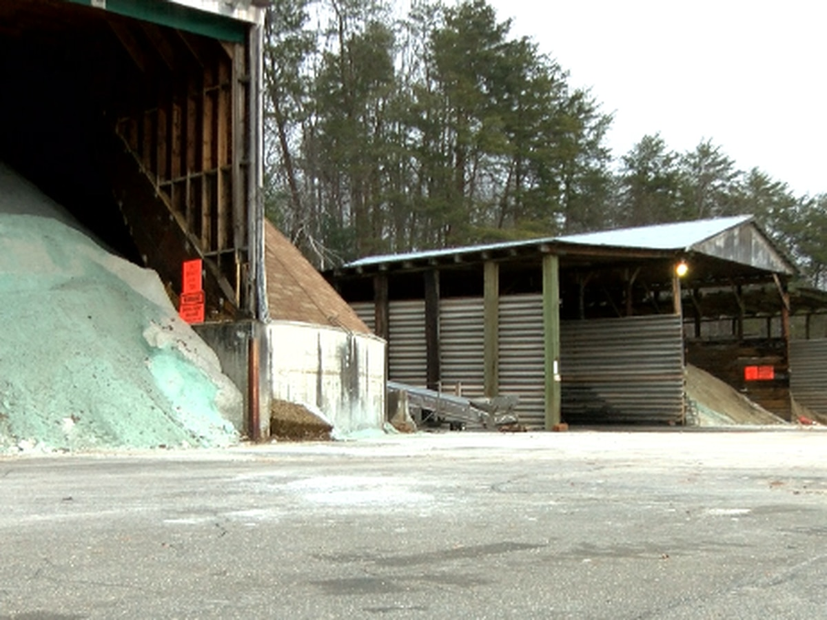 Thousands of gallons of brine used to prepare for winter weather in the foothills