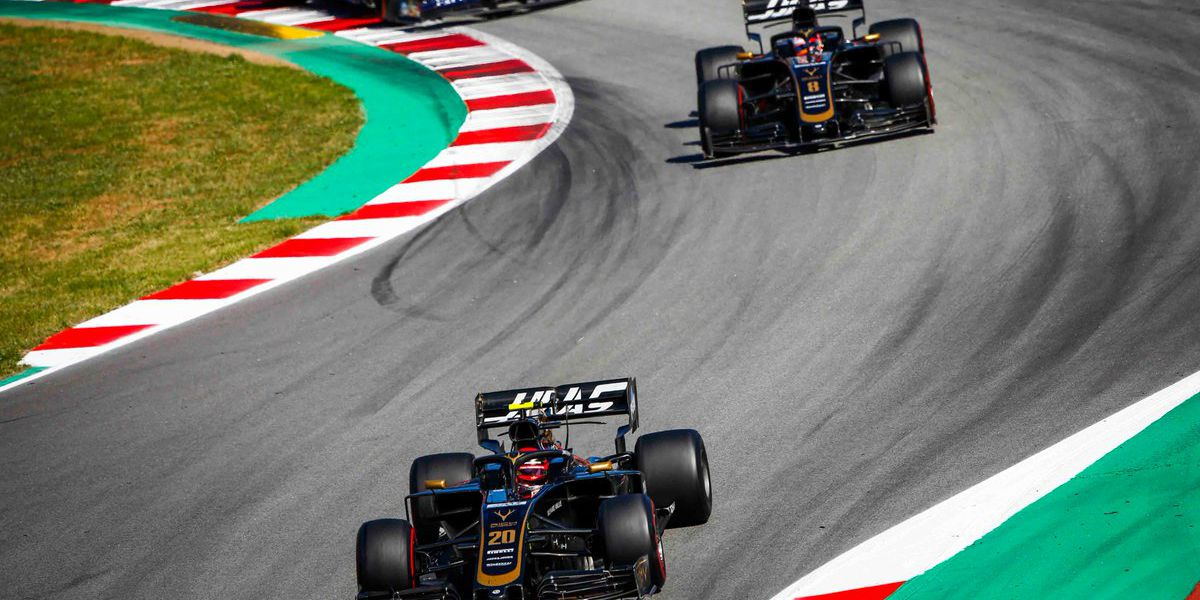 Great day in Barcelona for Kannapolis-based Haas F1 Team