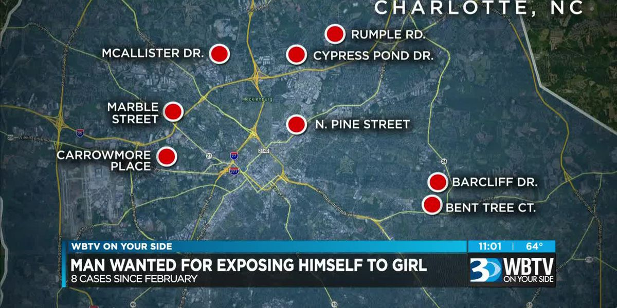 Man exposing himself to children at bus stops across Charlotte, CMPD says