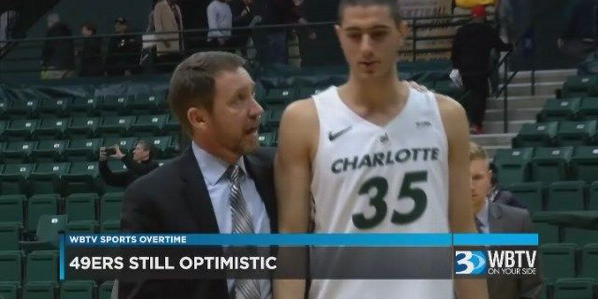WBTV Sports Overtime: Charlotte 49ers remain optimistic even in a 7 game losing streak