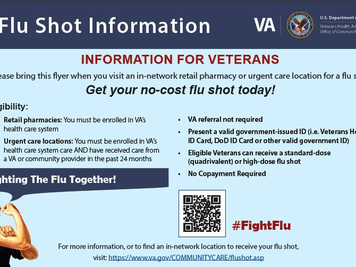 Salisbury VA Medical Center flu vaccination information released