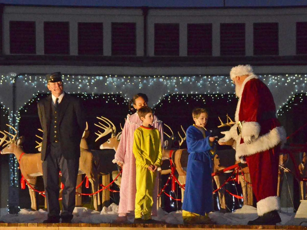 NC Transportation Museum in Spencer announces service to the North Pole onboard THE POLAR EXPRESS™ train ride