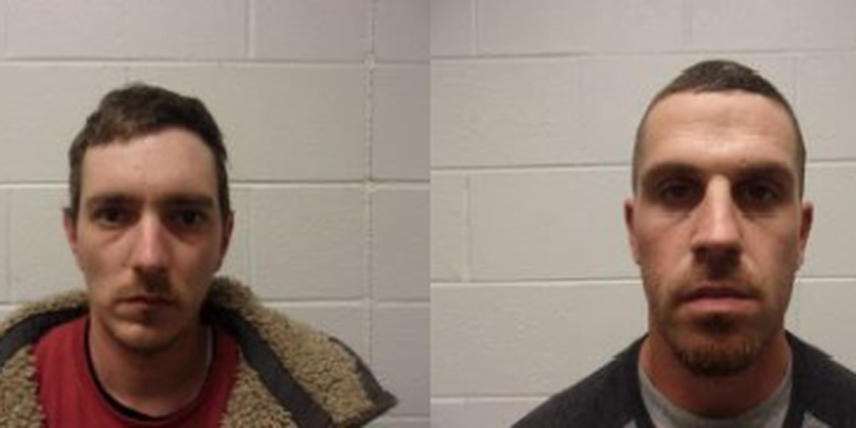 Two men accused of breaking into Yadkin Co shed, stealing property
