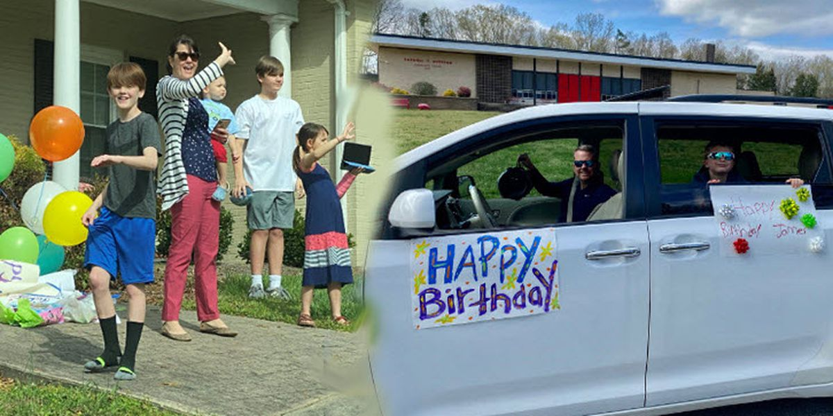 Neighbors hold birthday parade for N.C. 10-year-old who couldn't have party