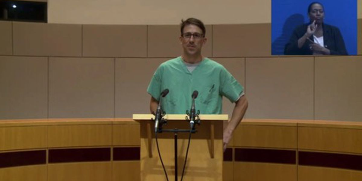 NC doctor after 10-hour shift in the ER: 'We are not out of the woods yet'