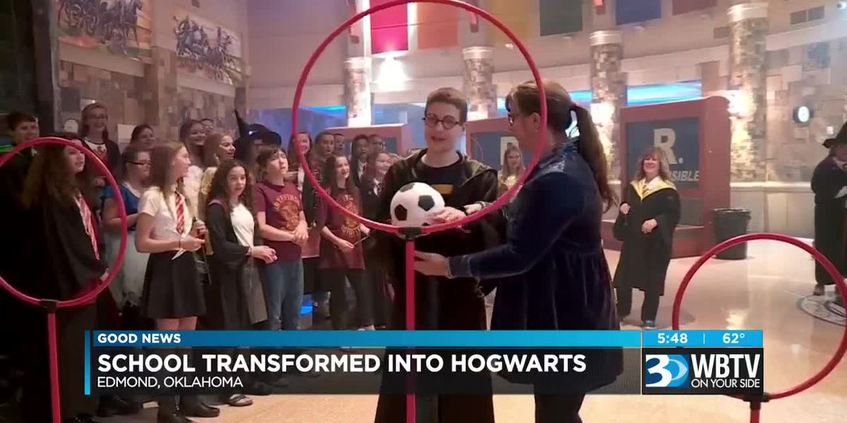 Good News: School transforms into Hogwarts for student