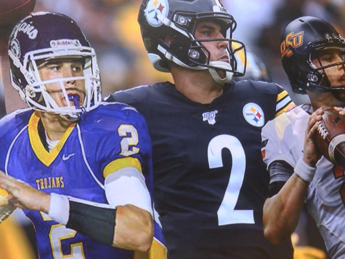 Northwestern HS football coach, interim AD react to devastating hit on Mason Rudolph in NFL