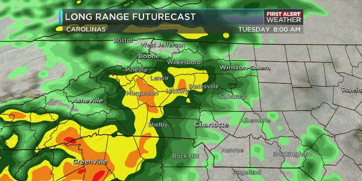 BLOG: Rain chances going up, temperatures going down