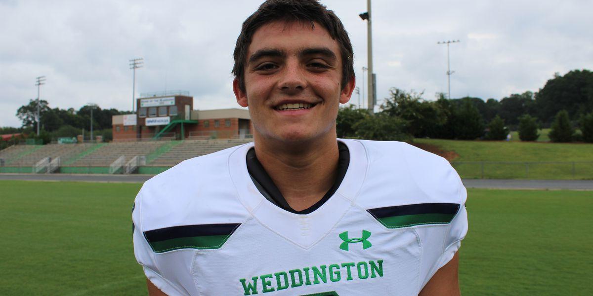 Weddington's Will Shipley commits to Clemson