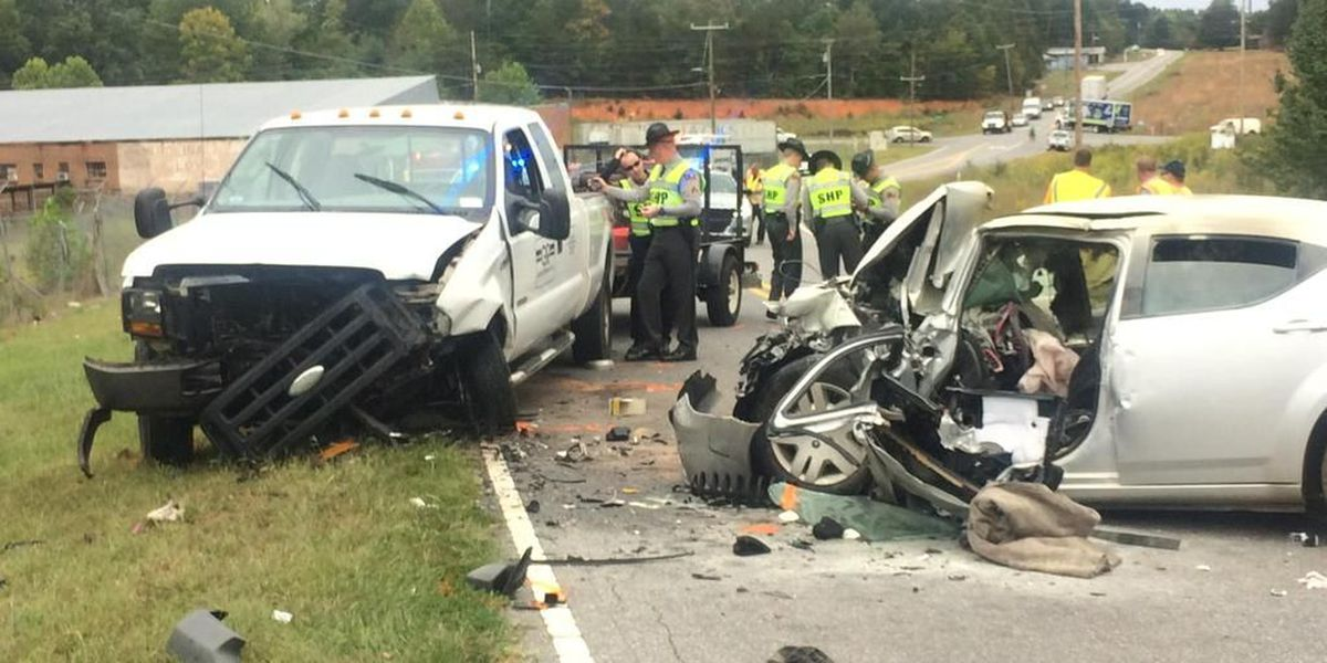 Troopers: Woman driver killed after crossing center line, crashing into truck