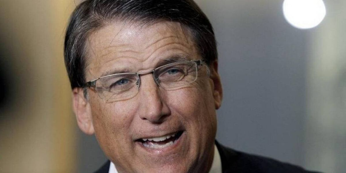 Former Gov. McCrory says man beat his car with tree limb while driving in Charlotte